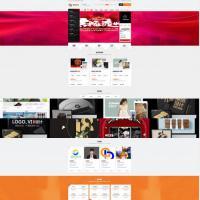 仿鱼爪设计网站品牌设计平面设计包装设计3D动画电商设计电商运营网站送手机版