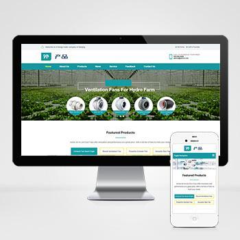 (自适应手机版)响应式英文外贸企业站网站产品展示类织梦模板 HTML5蓝色外贸网站源码下载